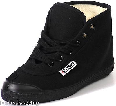 NEU Kawasaki Players Basic High Shoes Canvas Damen Herren Sneaker Schuhe schwarz