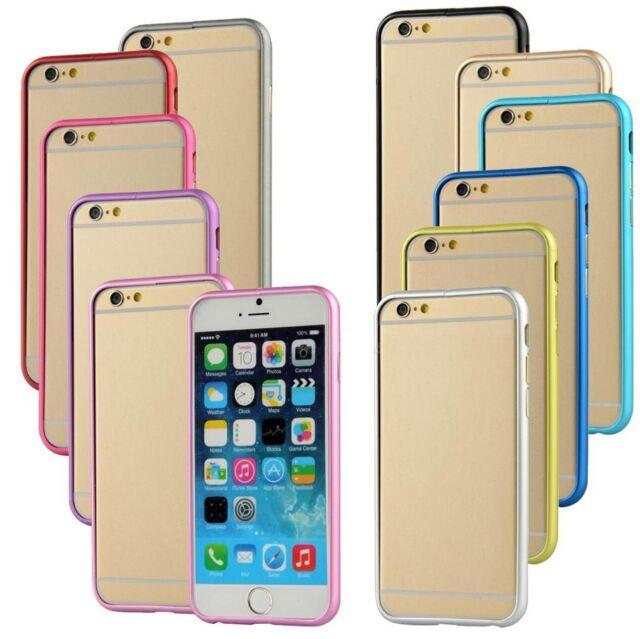 "Stylish Thin Aluminium Alloy Metal Bumper Frame Case for Apple iPhone 6 6s 4.7"""