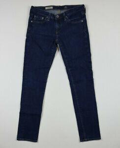 Adriano-Goldschmied-AG-Women-039-s-The-Stilt-Cigarette-Leg-Dark-Wash-Skinny-Jeans-29