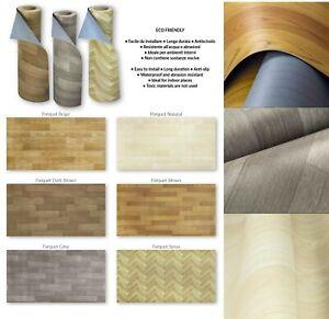 Vinile | Rotolo PVC Effetto Parquet. Facile da Tagliare, in varie misure e legni