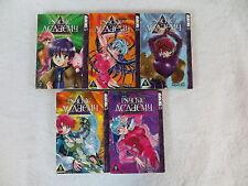 Lot of 5 Katsu Aki PSYCHIC ACADEMY Vols 2 5 6 8 9 Tokyopop English Manga