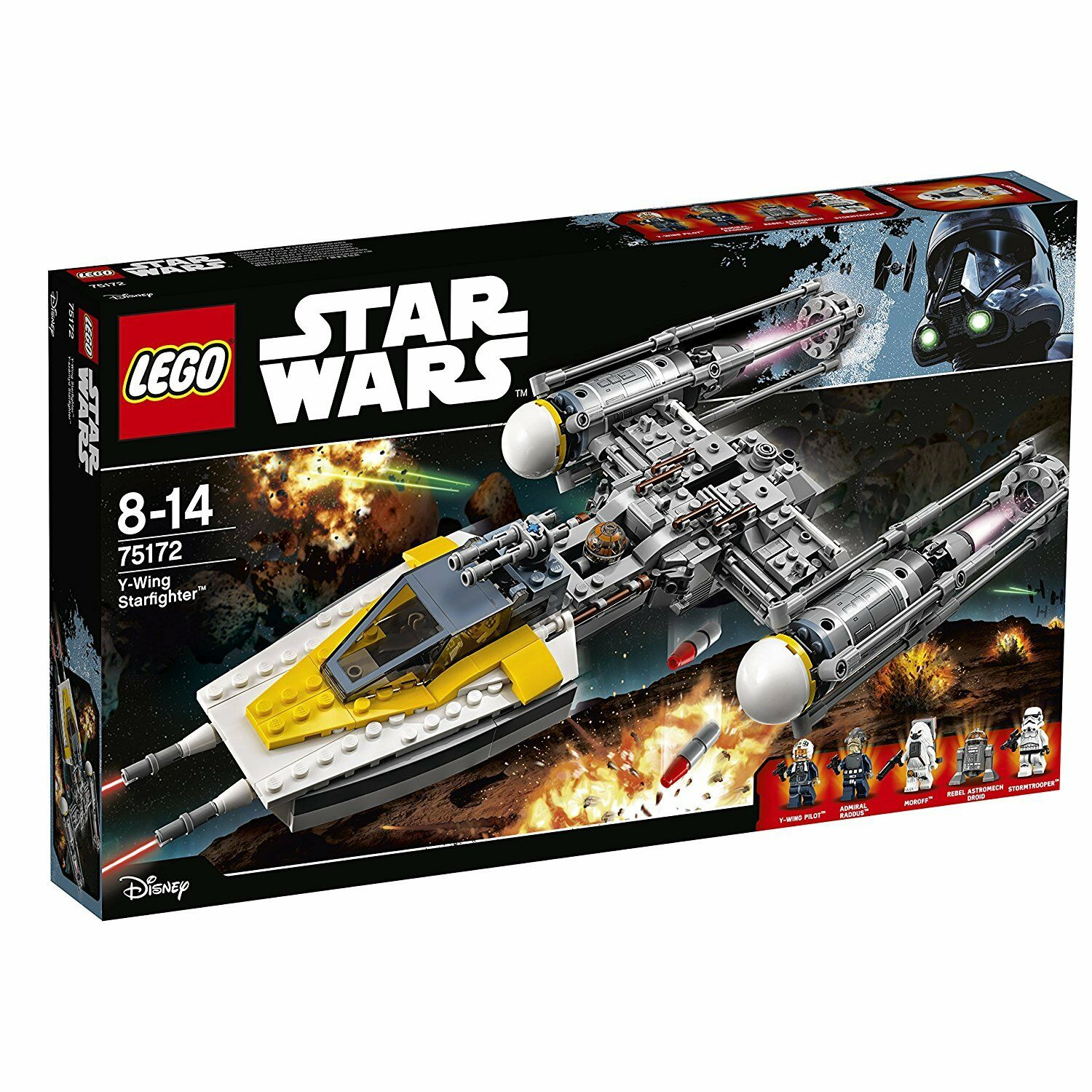 NEW LEGO Star Wars Y Wing Starfighter 75172 691 piece from Japan F S