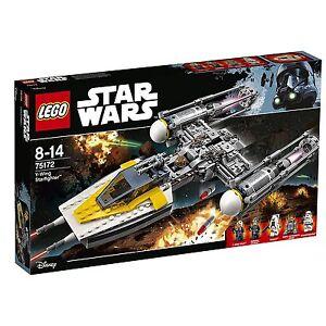 Nouveau Lego Star Wars Y Aile Starfighter 75172 691 Pièce De Japon F/s