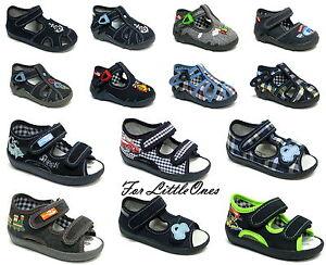Kids' Clothing, Shoes & Accs Alert Boys Canvas Shoes Trainers Infants Kids Sandals Slippers Size 3-9uk