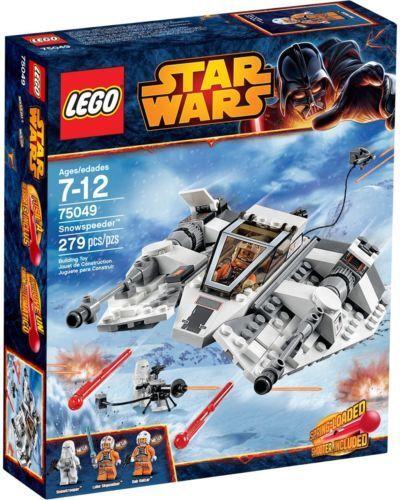 LEGO STAR WARS EPISODIO V 75049 Snowspeeder NUOVO, RARO FUORI PRODUZIONE