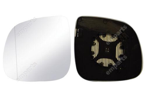 VW Transporter T6 Puerta Ala Espejo De Cristal Izquierda N//S 2015 en adelante MkVI MK6 climatizada