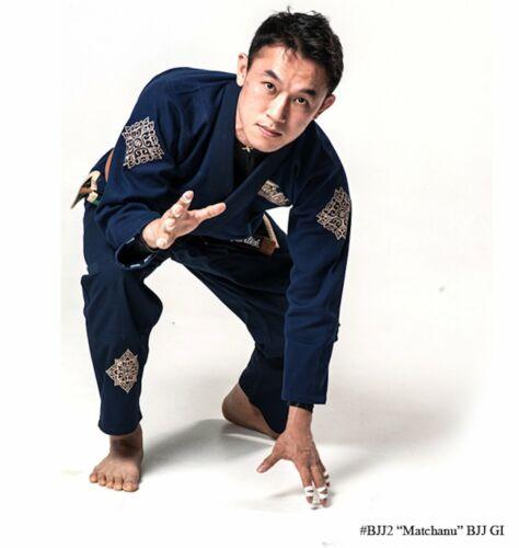 "NAVY BLUE Fairtex /""MATCHANU/"" Brazilian Jiu Jitsu Gi BJJ2"
