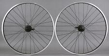 "Sun Rhyno Lite 26"" Mountain Bike Wheelset Shimano Deore Disc Hubs & rim Brake"