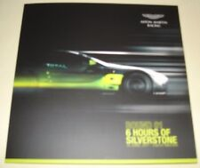 Le Mans WEC 2017 Silverstone 2nd In LMGTE AM Aston Martin Racing #98 Signed Card
