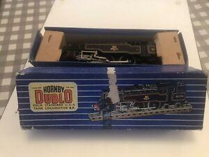 Hornby Dublo 3 rail British Railways Standard Tank 2-6-4 (80054) BR Black boxed