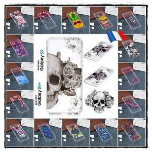 Etui-housse-coque-silicone-TPU-Soft-Case-Cover-Samsung-Galaxy-S9-ou-S9-plus