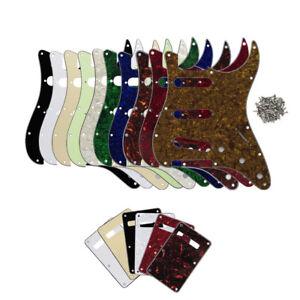 1-Set-ST-Guitar-Pickguard-SSS-11Hole-Scratch-Plate-Back-Cover-for-Strat-Guitar
