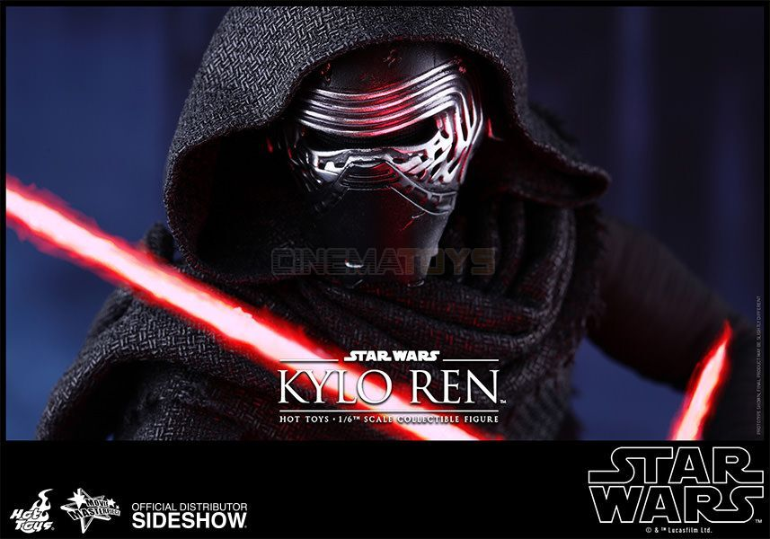 STAR STAR STAR WARS EP. VII Kylo Ren Sixth Scale Figure Hot Toys Film Masterpiece MMS 320 e7a809
