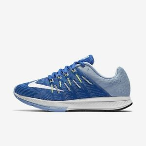 lowest price 31ee9 415f2 Details about Nike Women's Air Zoom Elite 8 Running Shoe Blue and White  748589 402 size 11