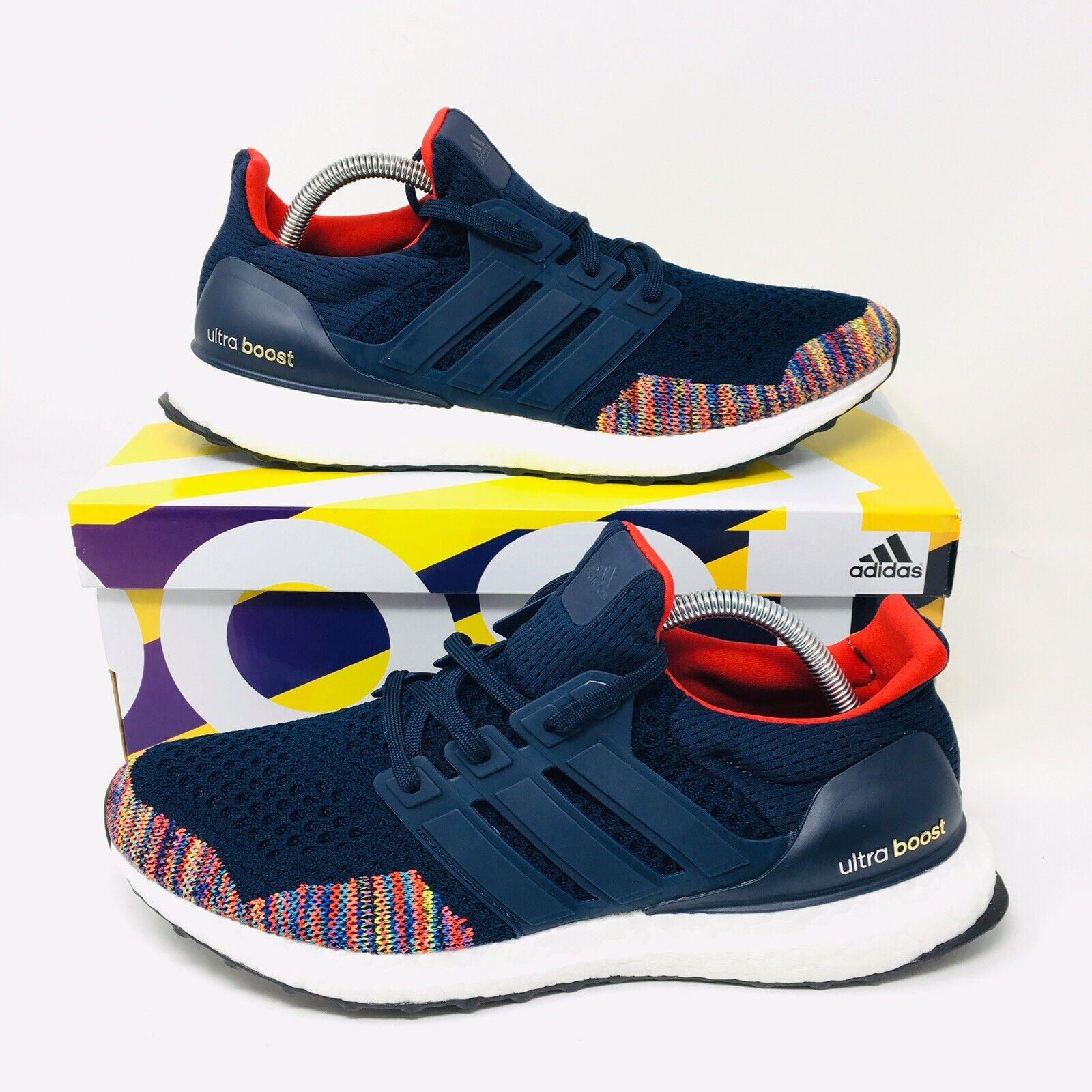 NEW Adidas Ultra Boost LTD (Men Size 10.5) Running shoes Navy Navy Red NMD CS