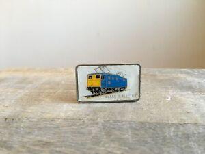 Vintage-British-Rail-CLASS-76-ELECTRIC-Train-Metal-Pin-Badge-Railway-Railwayana