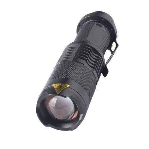 AA Taktische Militär 3Modes Aluminium Taschenlampe Licht Zoom Mini LED Nett