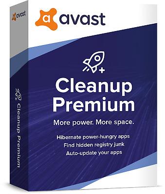 Avast Cleanup Premium 2021 1pc 1 Jahr Vollversion Tuneup Deutsch Neu Ebay