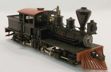HOn3 BRASS PSC LIMA GEARED LOGGING CLASS A 22 TON 2 TRUCK SHAY LOCO FAC PAINTED