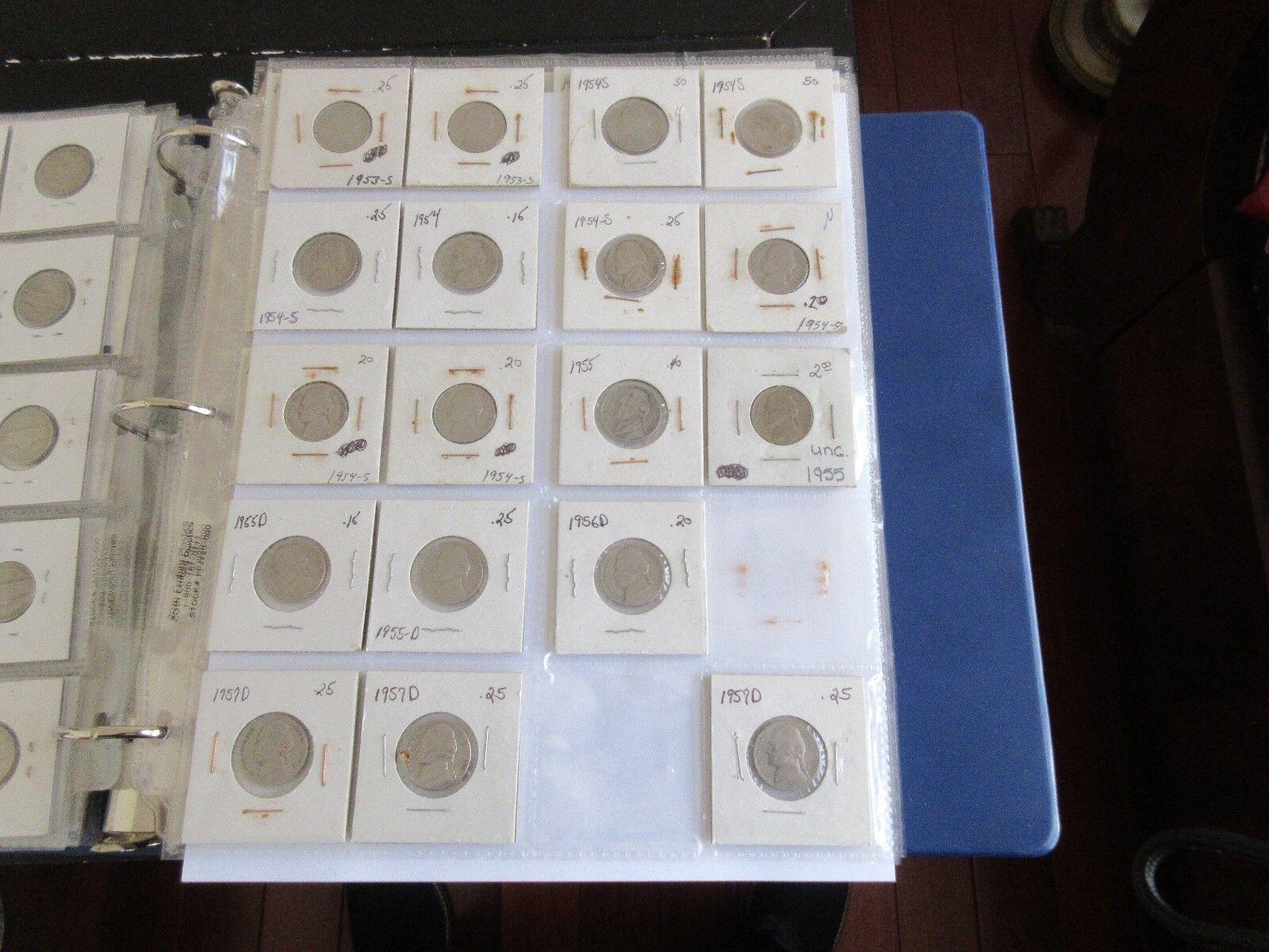 Jefferson Nickels , 1938-1942-1942-D -1969-D , Lot of 1