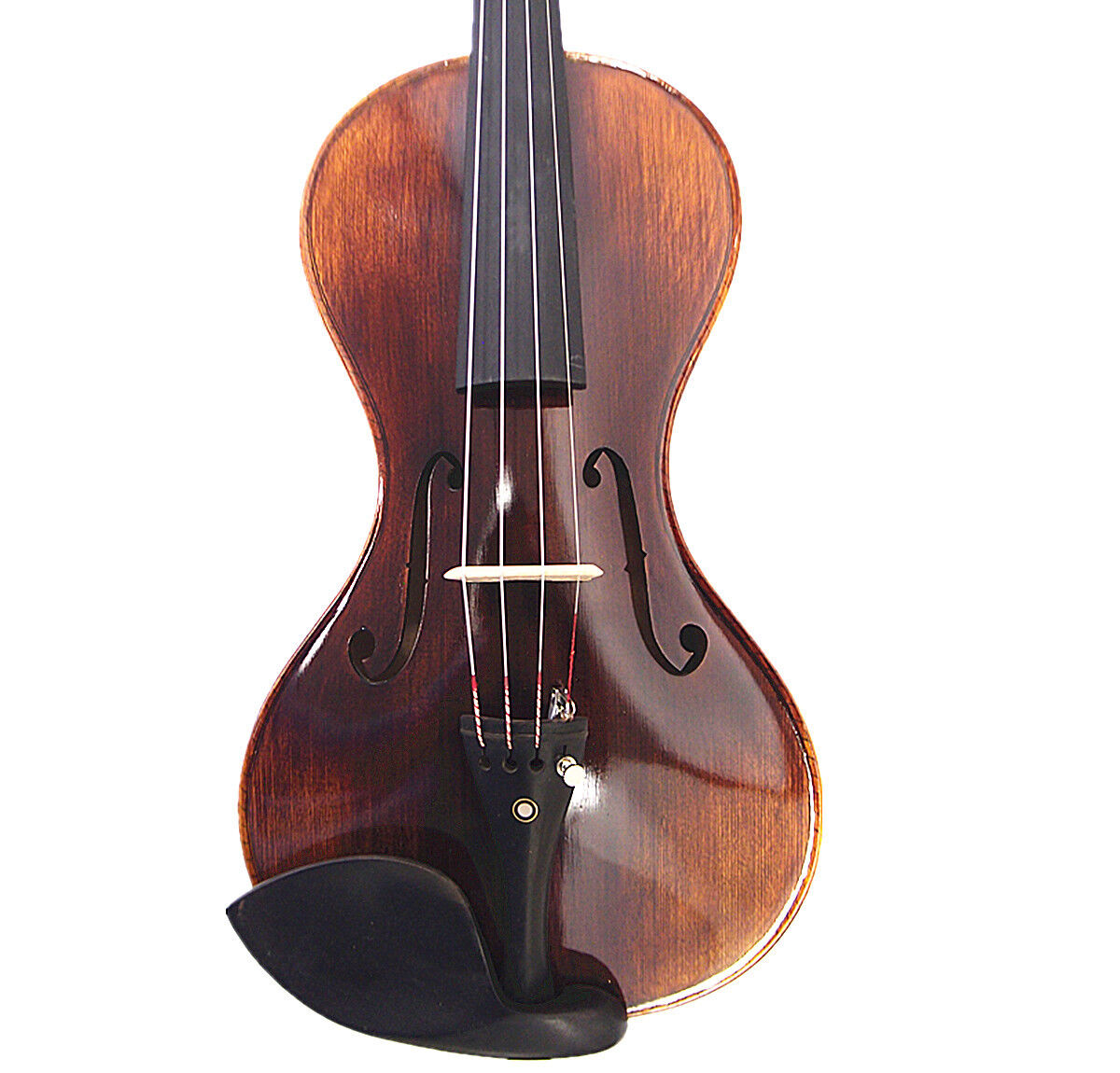 Nice sound 4/4 Hand-Made gourd shaped Violin +Bow +Rosin + Square Case  G1