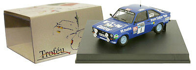 Hannu Mikkola RAC Rallye 1979 1:43 Trofeu 1008 Ford Escort RS 1800 Mk II