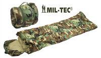 Us Army Style Military Woodland Camo Mummy Surplus Camping Sleeping Bag