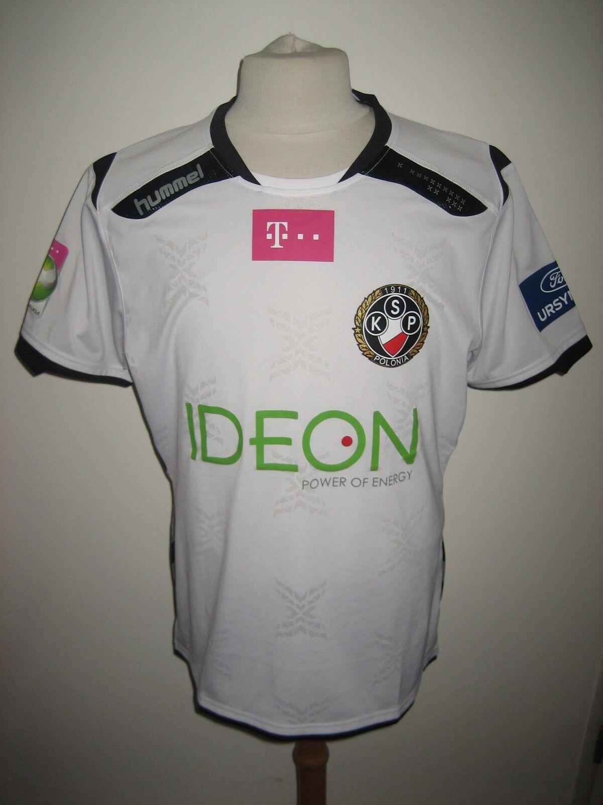 1f27f6af41d Polonia Warsaw MATCH WORN Poland football shirt soccer jersey trikot size XL