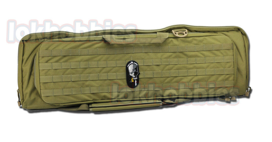 TMC Cordura frabic Ykk zipper Molle Deformation Double Rifle Carry Bag Case NEW