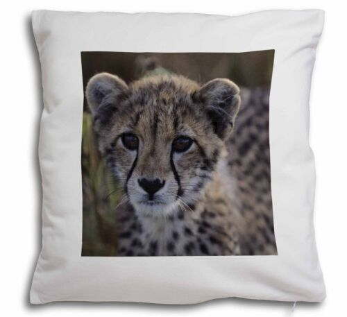 Cheetah Soft Velvet Feel Cushion Cover With Inner Pillow AT-24-CPW