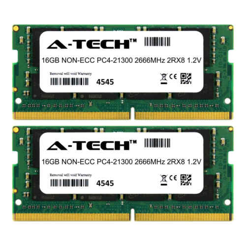for Dell XPS 15 9550 9560 9570 Laptops /& Notebook Memory Ram 32GB Kit 2 x 16GB