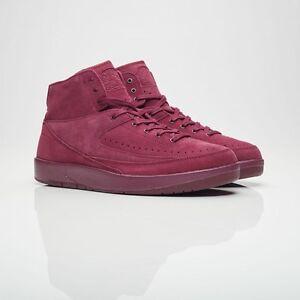 f5d7588454398f 2017 Nike Air Jordan 2 II Retro Decon Bordeaux Size 11.5. 897521-606 ...