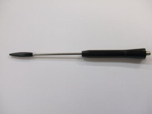 Chrome//Noir Beesting Aerial Mast Fits Hyundai antenne ix20 CA3B