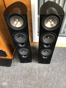Details about Kef IQ9 Speakers (Pair) Excellent Condition