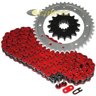 Red O-Ring Drive Chain /& Sprockets Kit Fits HONDA XR250L 1991 92 93 94 95 1996