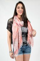 Cheetah Fringe Scarf , Beach Scarf, Patterned Scarf