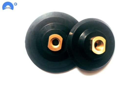 """4Inch//5Inch Rubber Back Pad 5//8/""""-11For Flexible Polishing Pad Soft Backer Pad"""