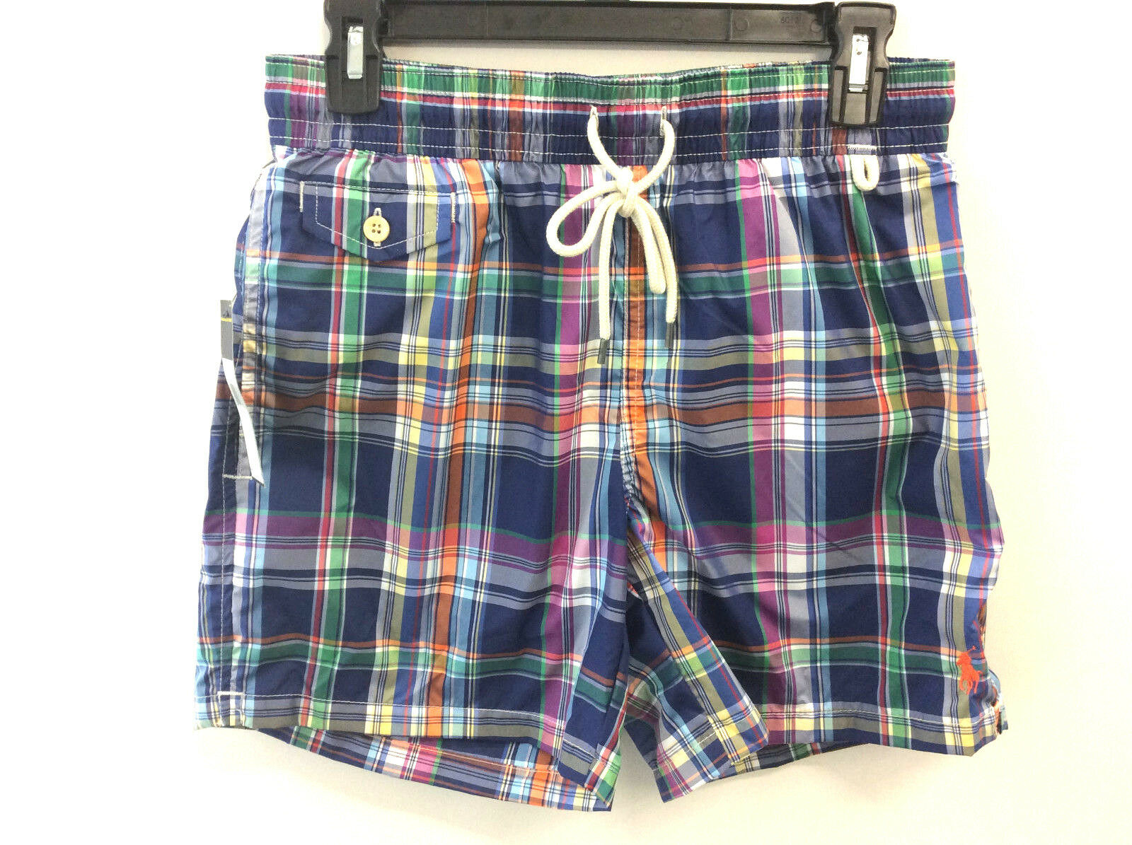 Replay Zwembroek.Polo Ralph Lauren Traveler Cruise Swim Trunks S Men S Plaid
