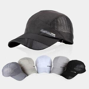 Men-Women-Outdoor-Sport-Hat-Baseball-Mesh-Cap-Adjustable-Running-Visor-Hat