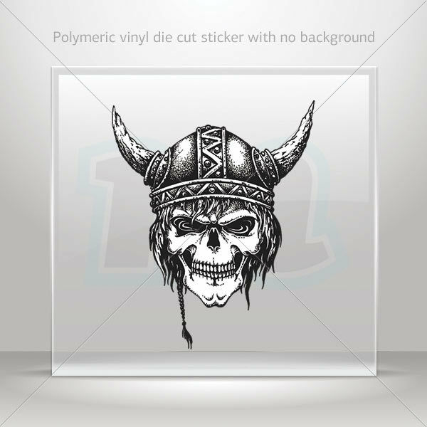 Stickers Decal Scuba Skull Atv Bike Garage bike polymeric vinyl st5 X32RS