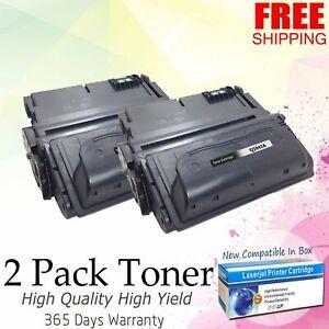4PK Q5942A 42A Black Toner Cartridge For HP LaserJet 4200 4250 4300 4300dtn 4350