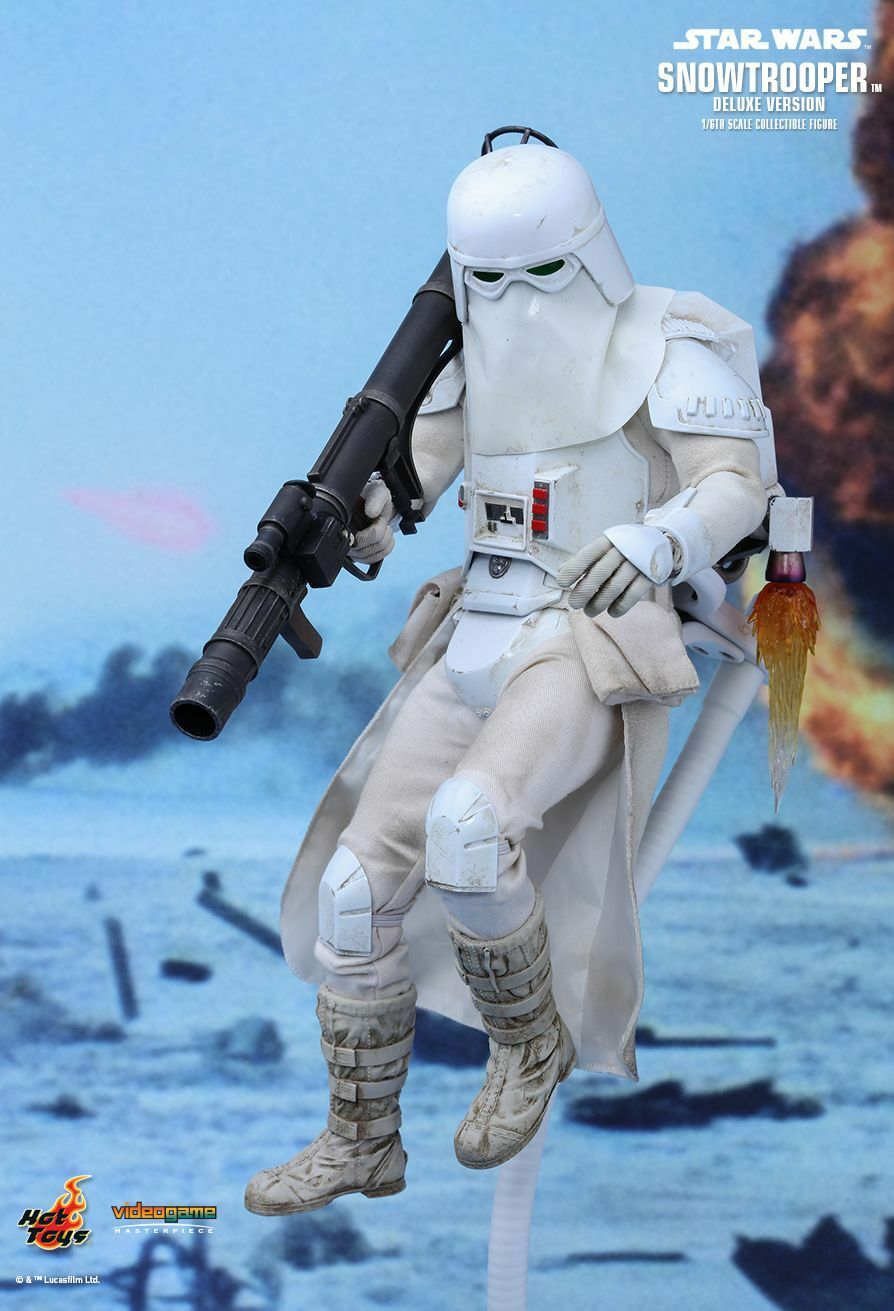 Hot Toys 1 6 Star Star Star Wars Battlefront Snowtrooper Deluxe Version VGM24 8bfd57