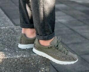 e1766472a184 Details about Mens Nike Mayfly Woven Medium Olive Light Bone Black  833132-200 Size 10 - 11
