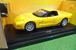 CHEVROLET-CORVETTE-Z06-2003-1-18-AMERICAN-MUSCLE-ERTL-33502-voiture-miniature