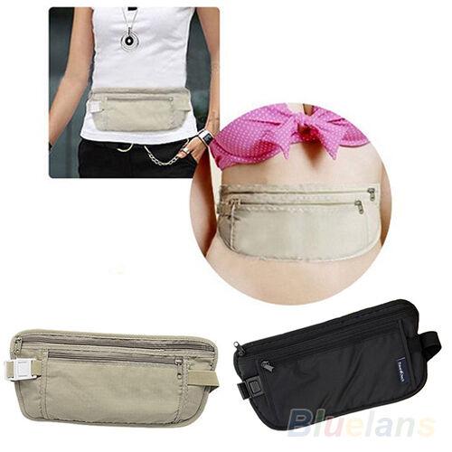 Vogue Women's Girl's Casual Traveling Storage Zipper Waist Bag 2 Colors BF9U