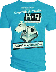 Image is loading Dr-Doctor-Who-K9-K-9-Your-Own-  sc 1 st  eBay & Dr Doctor Who - K9 K-9 Your Own Robot Dog Costume Male Style Tee T ...