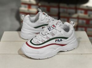Details about FILA RAY FOLDER White Green Yellow Navy Red Unisex Sneakers Athletic Shoes