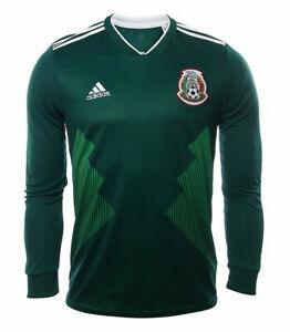 ADIDAS SELECCION MEXICANA JERSEY LOCAL LONG SLEEVES WORLD CUP ...