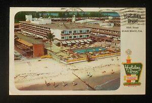 1960s-Aerial-View-Holiday-Inn-Motel-180th-St-Miami-Beach-FL-Dade-Co-Postcard