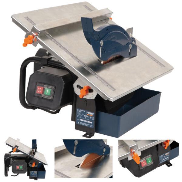 ferm 180mm diamond electric wet tile cutter saw 600w ebay. Black Bedroom Furniture Sets. Home Design Ideas